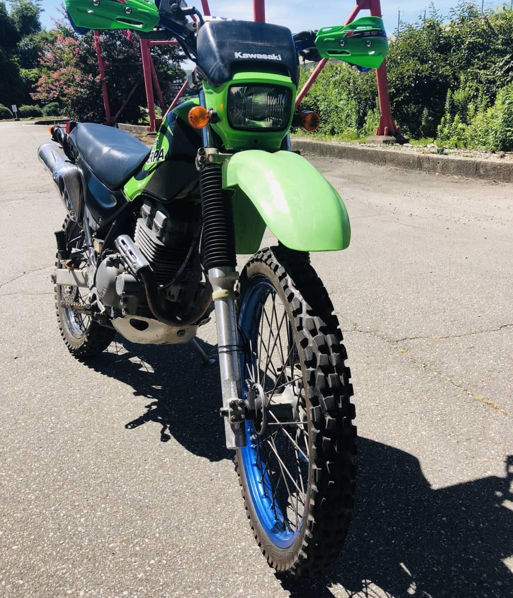 Тест-драйв мотоцикла Kawasaki KL250 Super Sherpa
