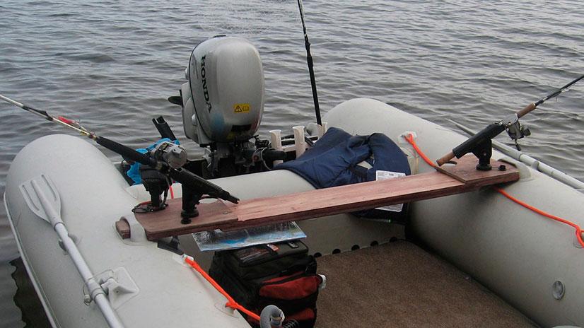Крепёж самодельной лодки