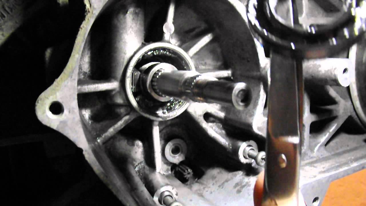 Основные признаки износа сальников коленвала скутера