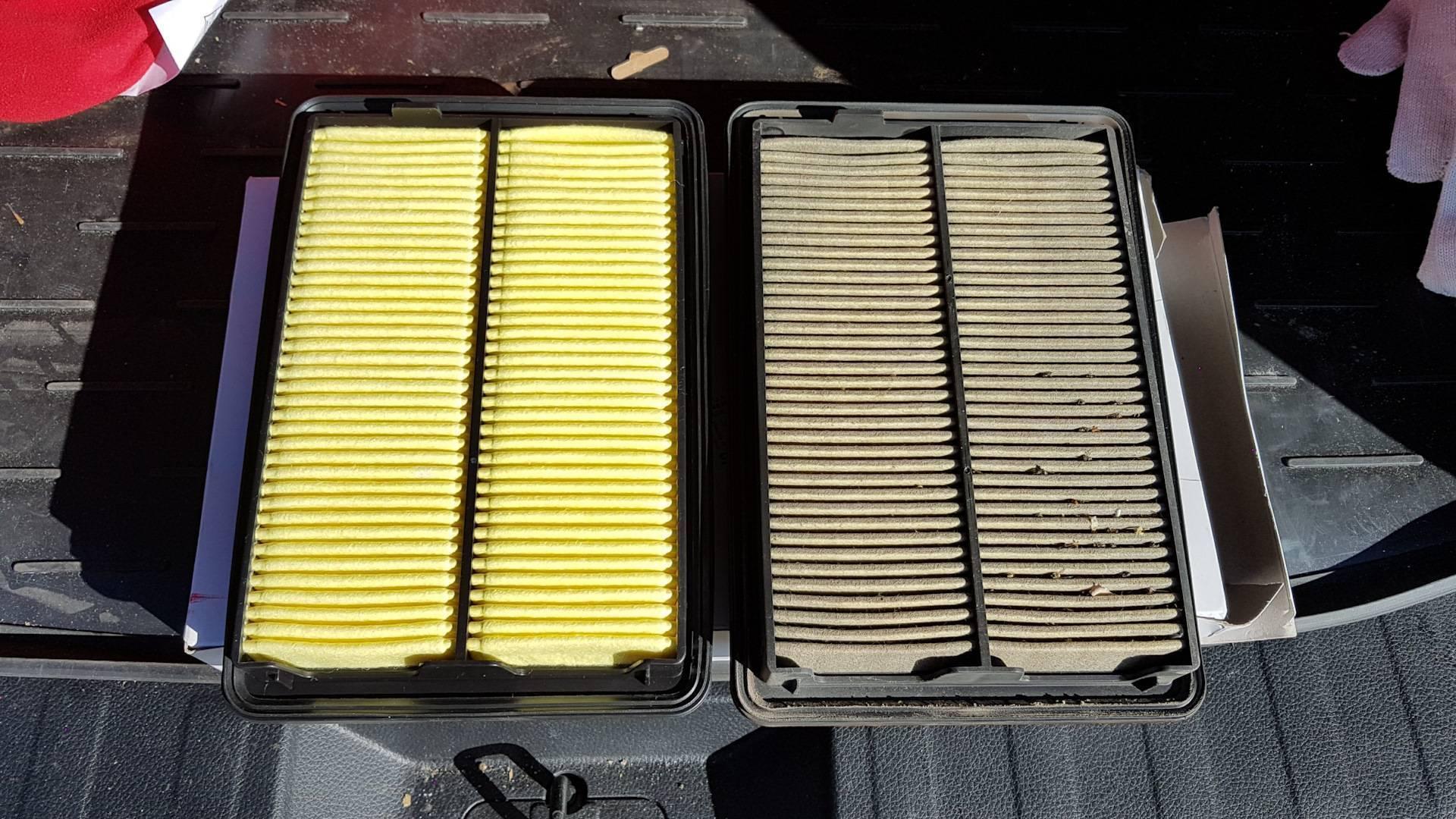 Как часто нужно менять фильтры в автомобиле?