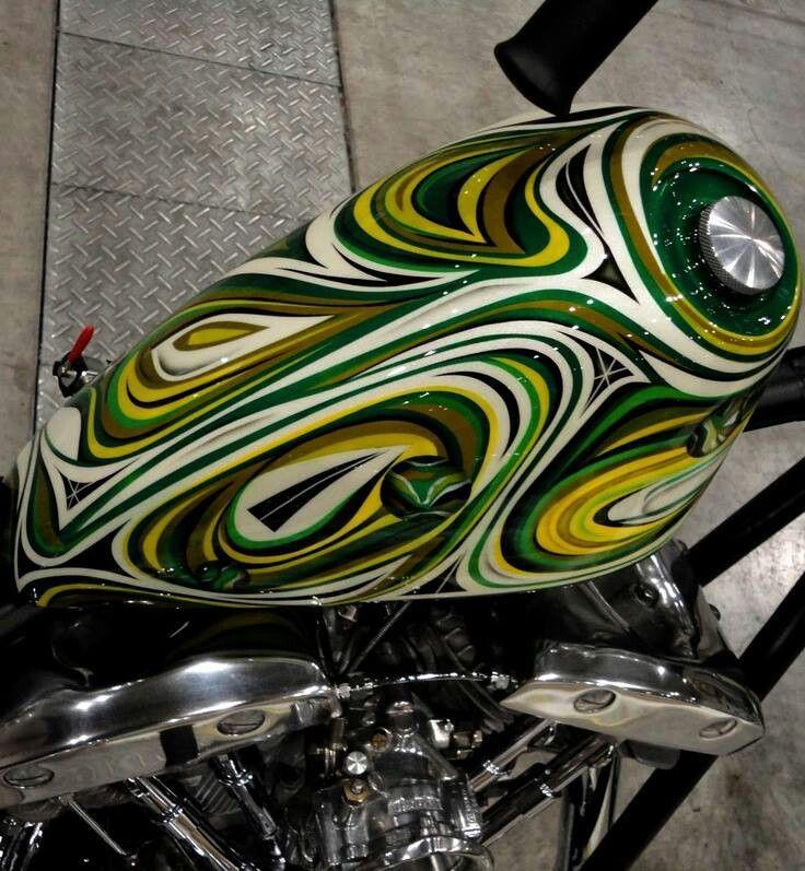 Покраска мотоцикла своими руками: технология и рекомендации