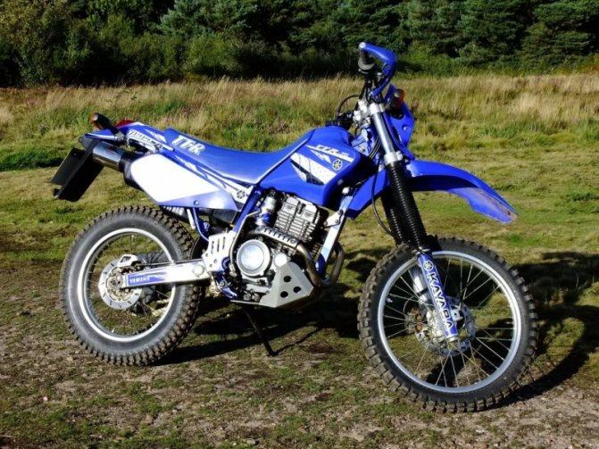Тест-драйв мотоцикла Yamaha TT-R250 Open Enduro