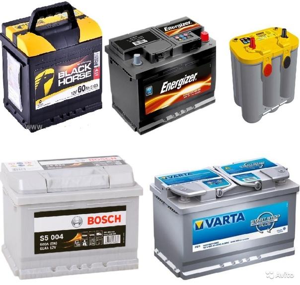 Топ аккумуляторов для автомобиля