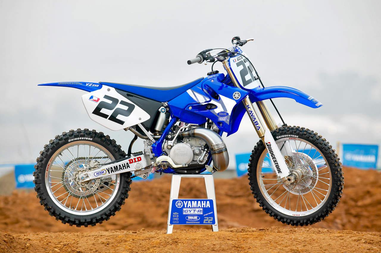 Тест-драйв мотоцикла Yamaha YZ450F