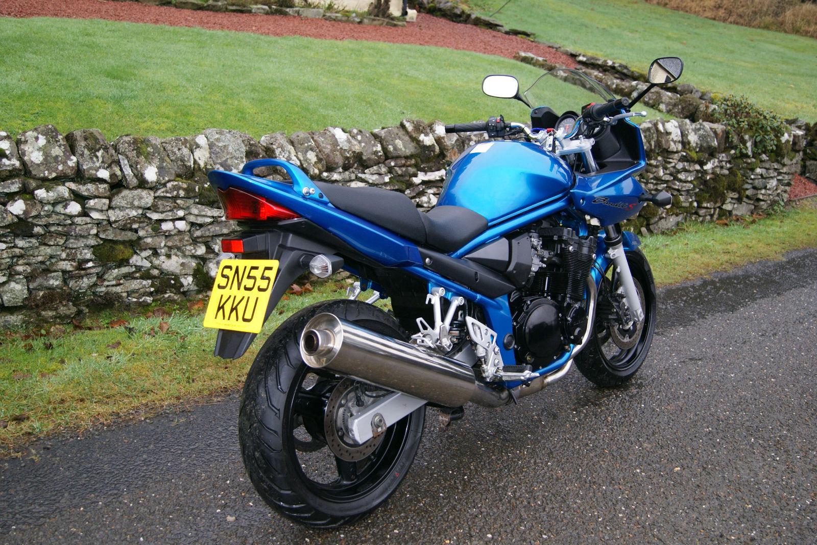 Тест-драйв мотоцикла Suzuki GSF 650 Bandit