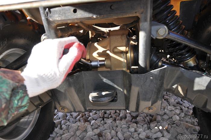 Масло для двигателя квадроцикла cf moto 500