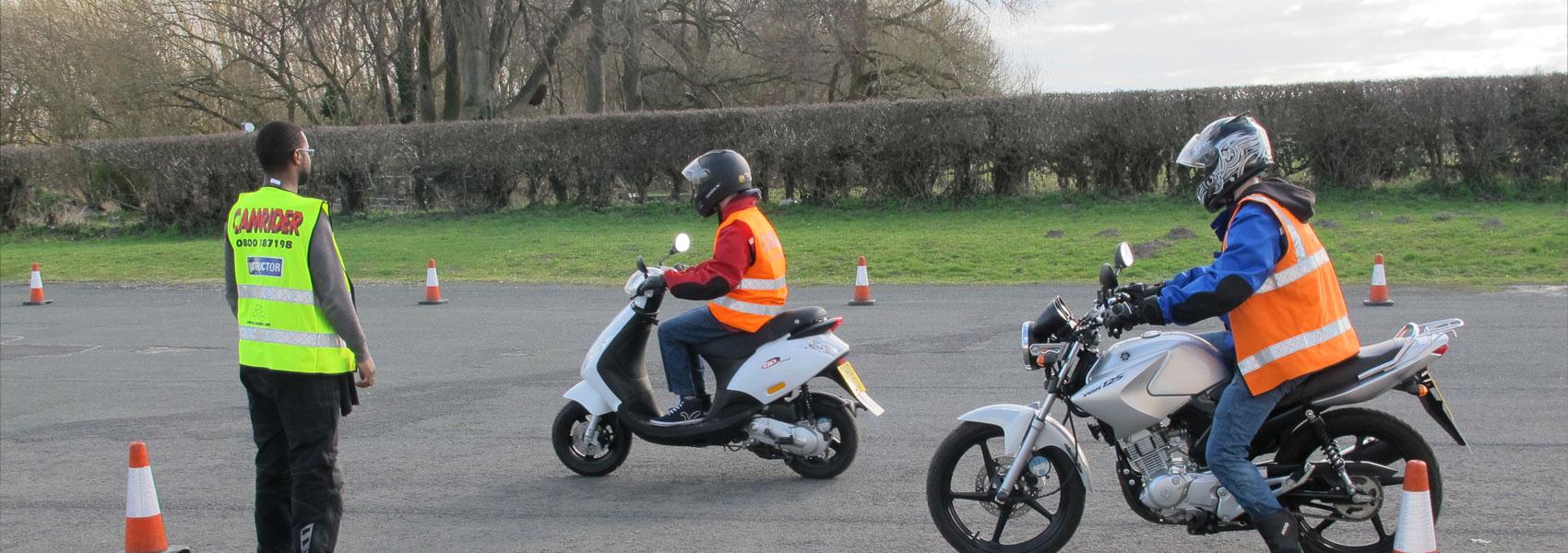 Управление мотоциклом без прав