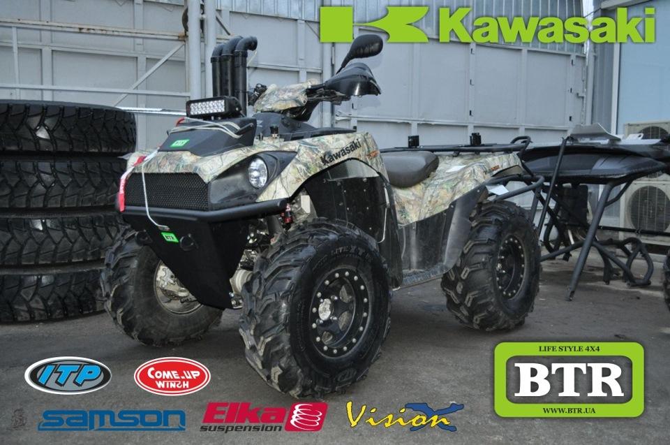 Kawasaki Brute Force (Кавасаки Брут Форс) 750 — лучшее для бездорожья