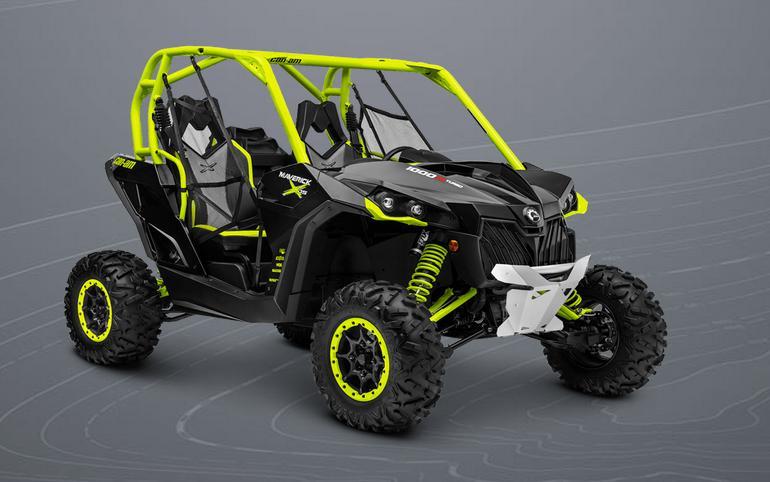 BRP Maverick 1000 X DS TURBO — квадроцикл нового поколения