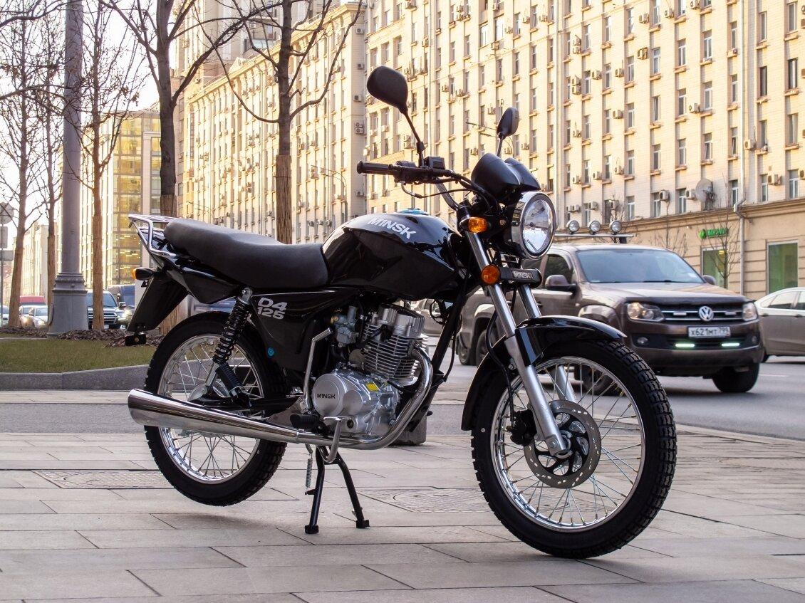 Минск D4 125: классика по-белорусски