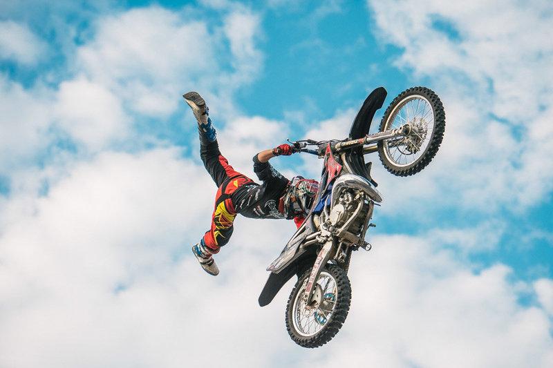 Мотофристайл один из самых зрелищных видов мотоциклетного спорта