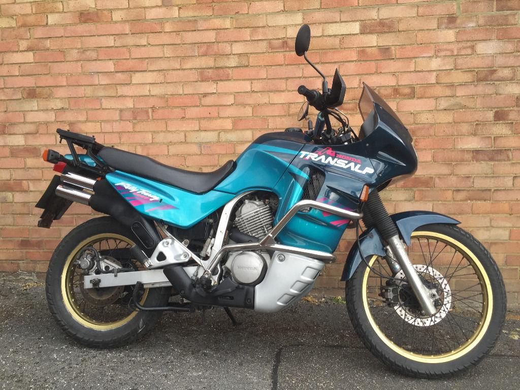 Тест-драйв мотоцикла Honda XL600V Transalp