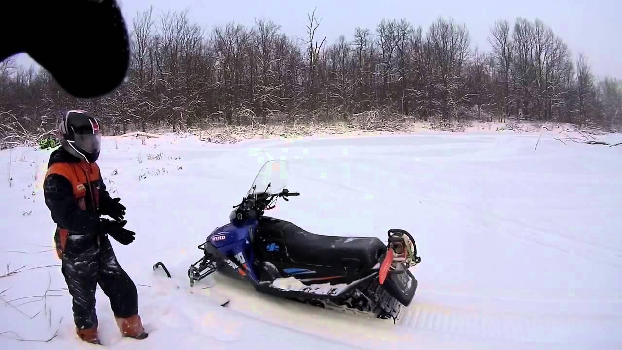 Характеристики снегохода АВМ Wind 320СС