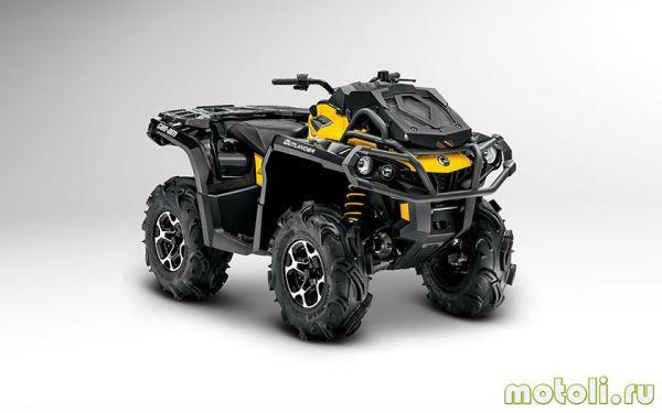 Outlander 650 X mr — легкий 60-сильный грязепроходчик