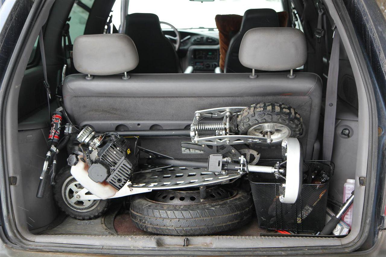 MOVEO – скутер, который можно положить в багажник