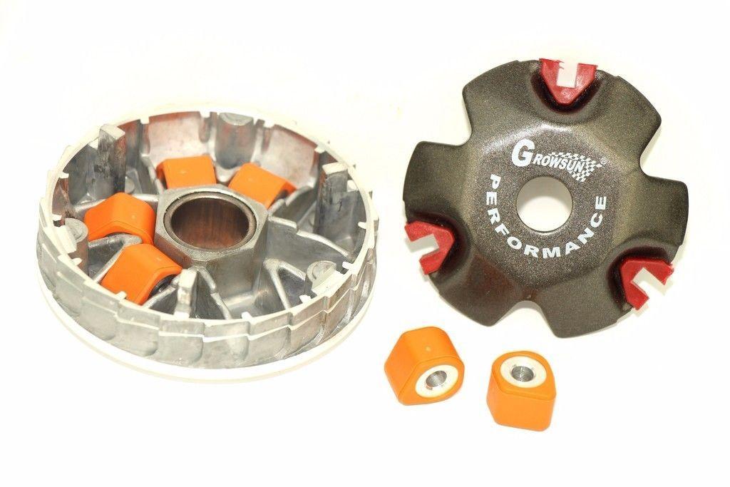 Размер и вес роликов вариатора для скутеров Benelli