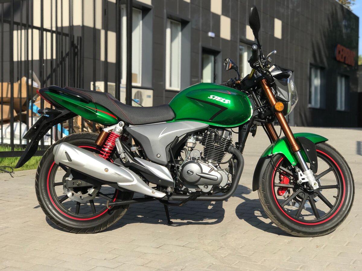 Дорожный мотоцикл Stels Flame 200 - китайский ответ YBR 125