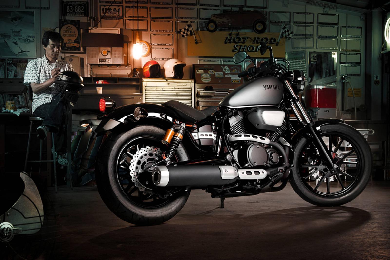 Тест-драйв мотоцикла Yamaha XV950 Bolt