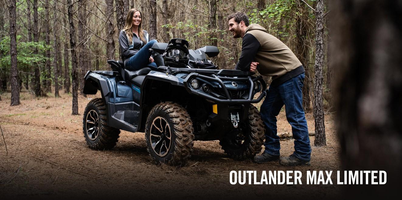 Outlander MAX 1000 LTD – престижный квадроцикл для комфортной езды