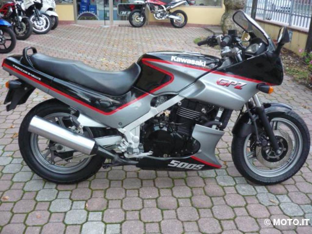 Kawasaki GPZ 500 (GPZ500S, EX 500, Ninja 500R)
