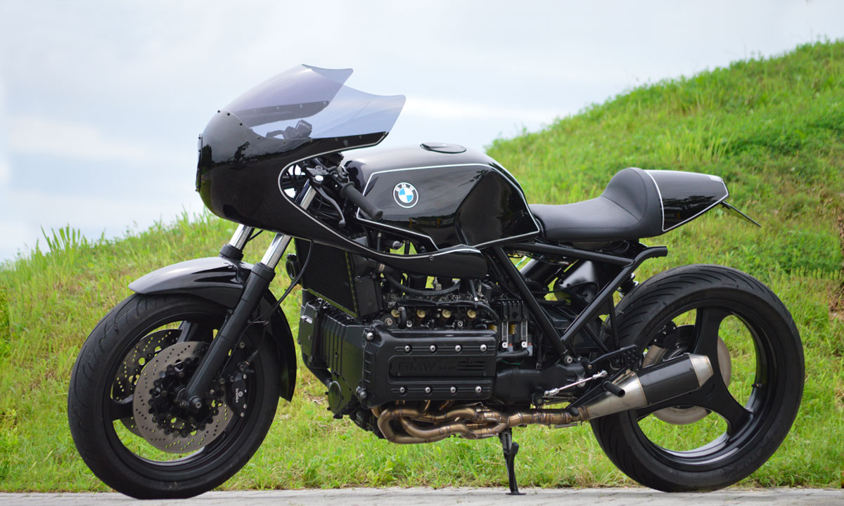BMW K100 – Железная Классика
