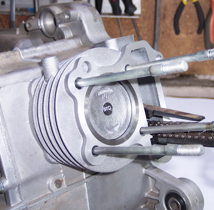 Замена поршневой на скутере, инструкция