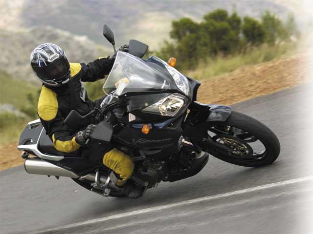 Тест-драйв мотоцикла Suzuki DL650 V-Strom