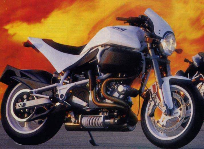 Buell S1 White Lightning