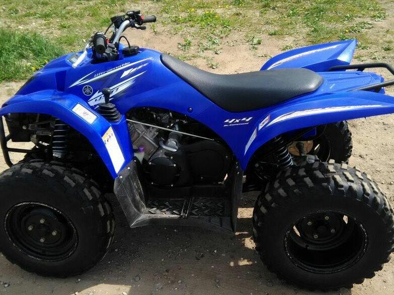 Yamaha Wolverine 450 — яркий представитель спортивного класса