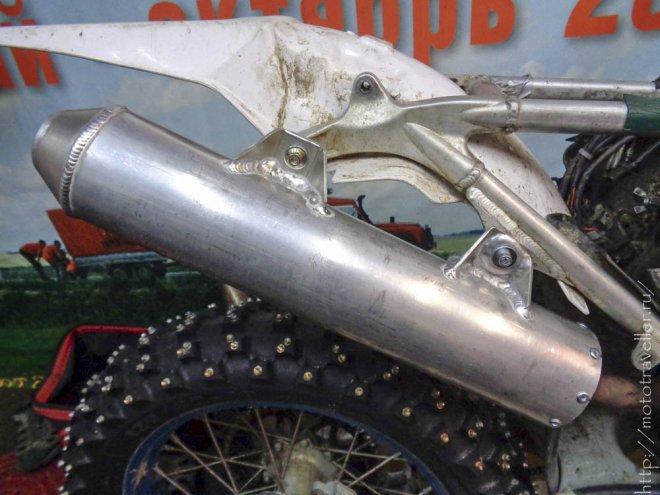Как самодельно изготовить глушитель для мотоцикла