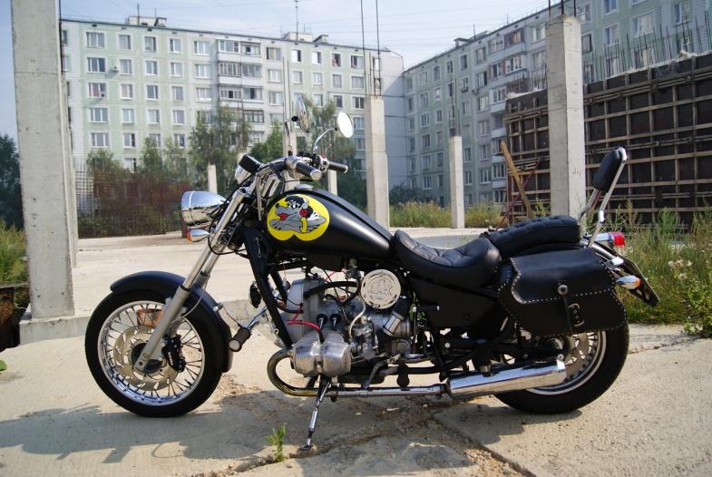 Урал Волк: Российский двухколёсный зверь
