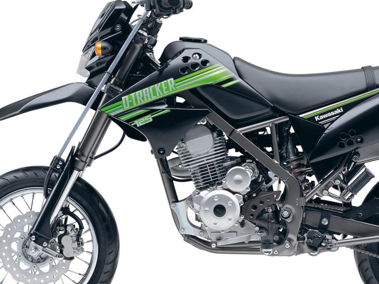 Мануалы и документация для Kawasaki D-Tracker 150
