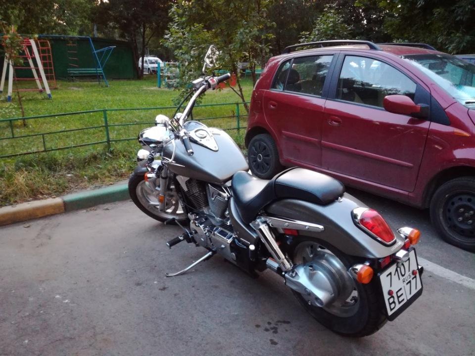 Тест-драйв мотоцикла Honda VTX1300