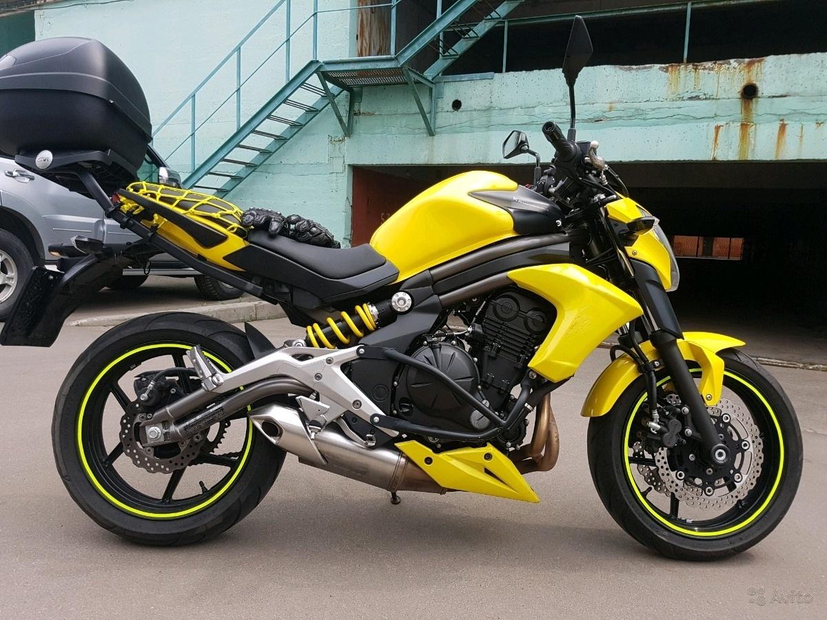 Kawasaki ER-6n (Кавасаки ЕР 6Н) — обзор дорожной модели мотоцикла