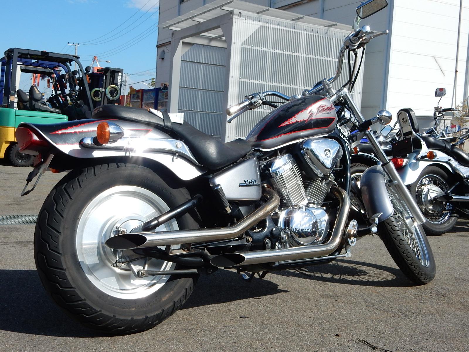 Мотоцикл Honda Steed (Хонда Стид) 400 — обзор и технические характеристики модели