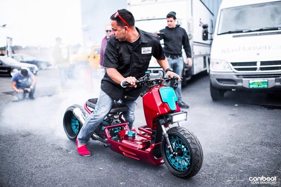 Профессиональный тюнинг скутера для участия в гонках