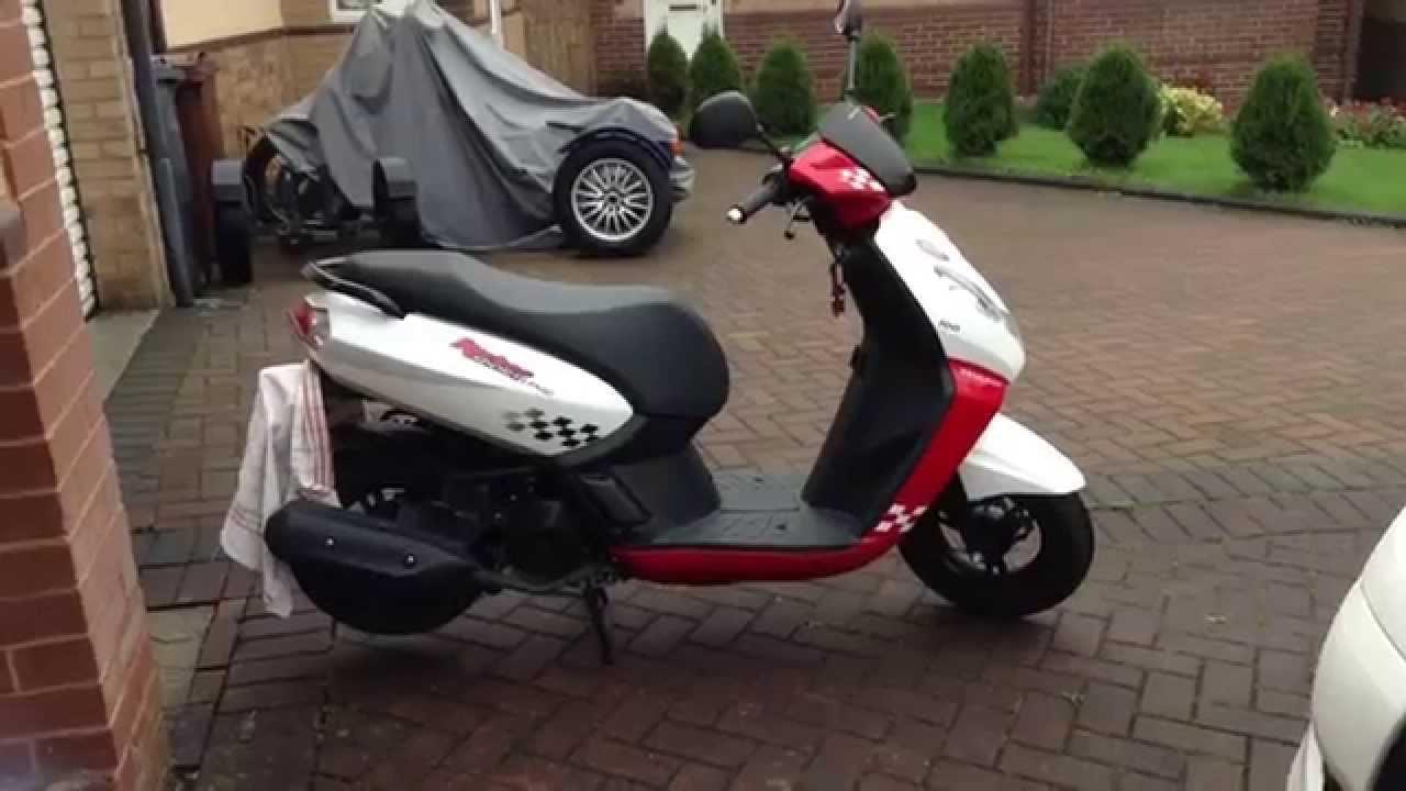 Peugeot Kisbee 100 – идеальный скутер для города за 2400$