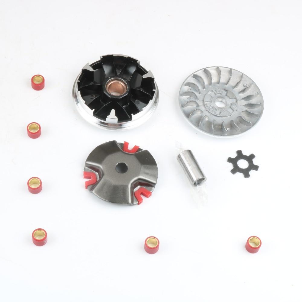 Ролики вариатора для скутеров Malaguti — заводские данные (популярные модели)