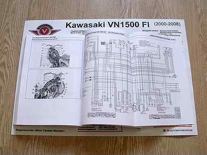 Мануалы и документация для Kawasaki VN1800 Vulcan