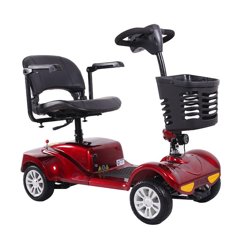 Скутеры для пожилых людей: виды, бренды, как выбрать