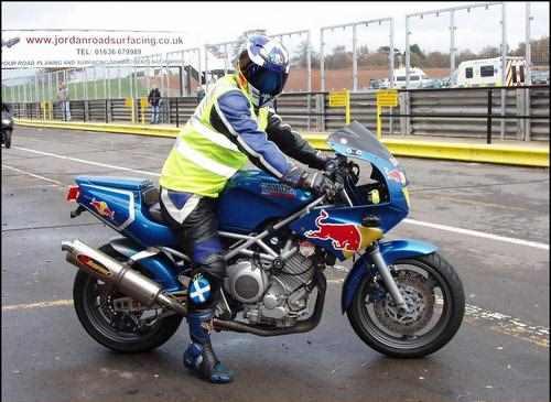 Тест-драйв мотоцикла Suzuki SV400