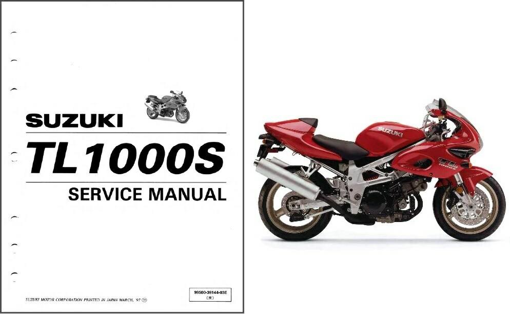 Мануалы и документация для Suzuki TL 1000 (TL1000S, TL1000R)