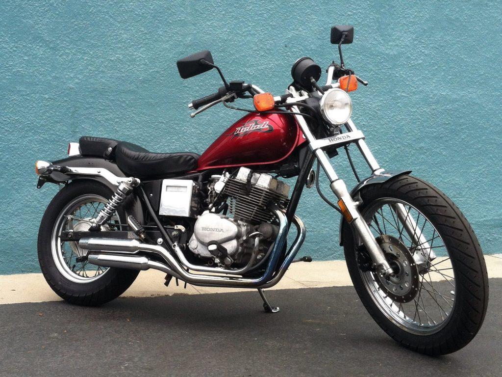 Тест-драйв мотоцикла Honda CMX250 Rebel