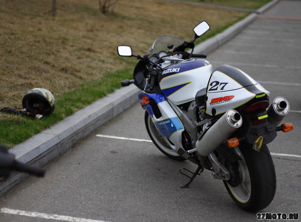 Тест-драйв мотоцикла Suzuki TL1000R