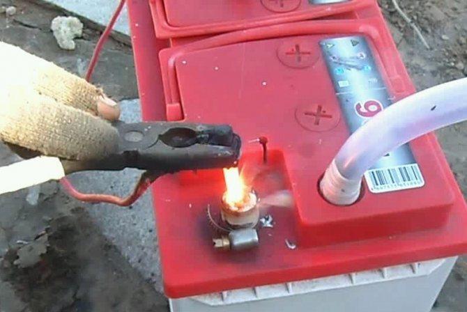 Ремонт аккумулятора с нерабочей банкой или клеммой