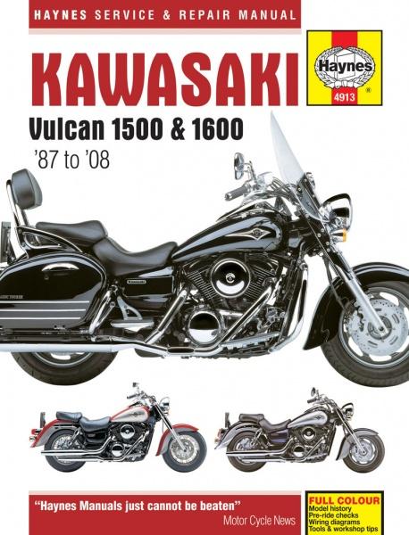 Мануалы и документация для Kawasaki VN750 Vulcan