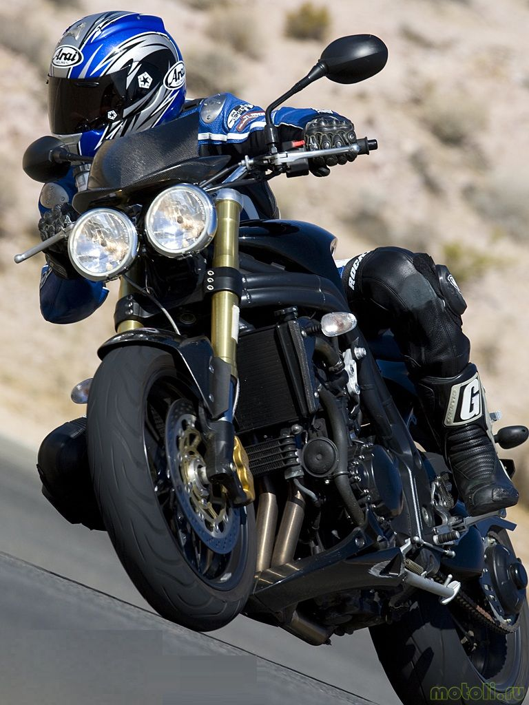 Мотоцикл Triumph Speed Triple Carbon Edition (2007)