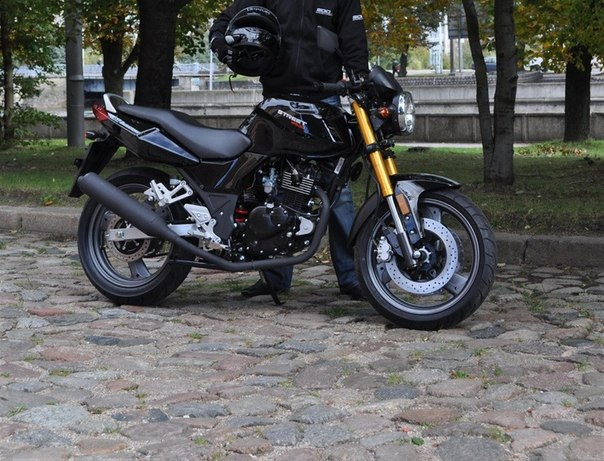 Baltmotors Street 125 DD — Китаец из Калининграда