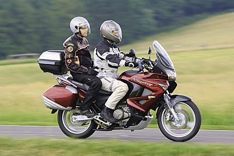 Тест-драйв мотоцикла Honda CB750