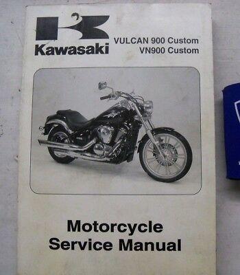 Мануалы и документация для Kawasaki VN900 Vulcan